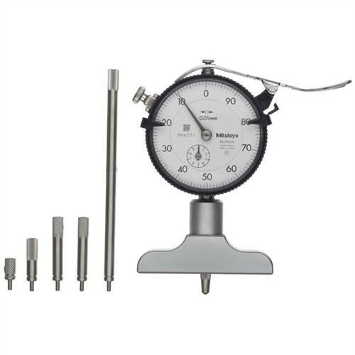 Đồng hồ đo sâu 7211  0-200mm x 0.01 Đế 63.5mm